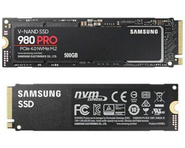 Samsung 980 PRO NVMe M.2 500GB [ PCIe ]